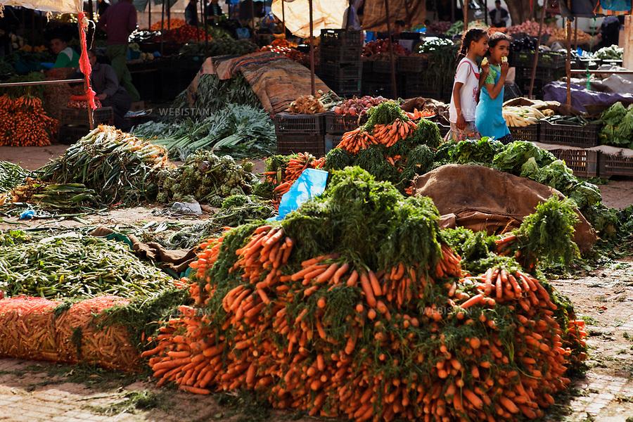 Algerie. Marche du village d'El Malah_Rio Salado.14 Avril 2011.<br /> <br /> <br /> Algeria. April 14th 2011. El Malah_Rio Salado market