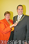 CELEBRATING: New Killarney mayor, Niall OCallaghan