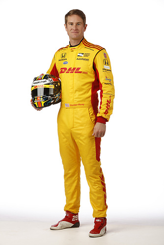 2018 IndyCar Media Day - Driver portraits<br /> Phoenix Raceway, Avondale, Arizona, USA<br /> Wednesday 7 February 2018<br /> Ryan Hunter-Reay, Andretti Autosport Honda<br /> World Copyright: Michael L. Levitt<br /> LAT Images<br /> ref: Digital Image