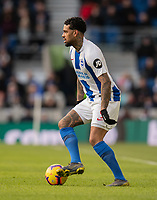 Brighton & Hove Albion's Jurgen Locadia <br /> <br /> Photographer David Horton/CameraSport<br /> <br /> The Premier League - Brighton and Hove Albion v Watford - Saturday 2nd February 2019 - The Amex Stadium - Brighton<br /> <br /> World Copyright © 2019 CameraSport. All rights reserved. 43 Linden Ave. Countesthorpe. Leicester. England. LE8 5PG - Tel: +44 (0) 116 277 4147 - admin@camerasport.com - www.camerasport.com