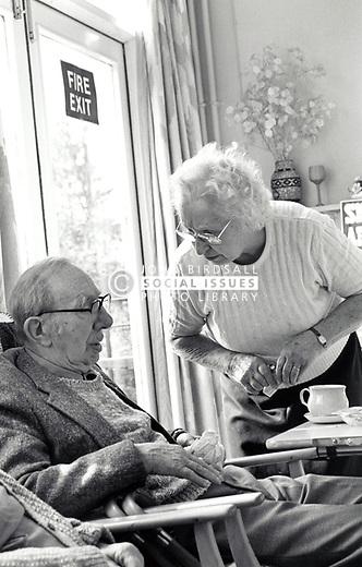 Residential home for the elderly, Nottingham UK 1991