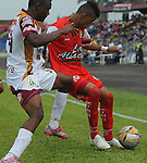 Cortuluá recibió al Deportes Tolima en el estadio 12 de Octubre. Los dirigidos por Jaime de la Pava salvaron un punto en casa, tras igualar 1-1 con el  equipo de Alberto Gamero en la fecha 15 del Torneo Apertura Colombiano.  El cuadro Tuluá se ubica en la posición 12 la tabla, mientras que el 'Vino Tinto y Oro' se posiciona en la casilla 11 ambos con 19 unidades