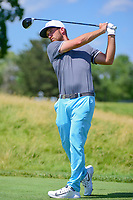 Kevin Chappell (USA) watches his tee shot on 12 during Thursday's round 1 of the 117th U.S. Open, at Erin Hills, Erin, Wisconsin. 6/15/2017.<br /> Picture: Golffile | Ken Murray<br /> <br /> <br /> All photo usage must carry mandatory copyright credit (&copy; Golffile | Ken Murray)