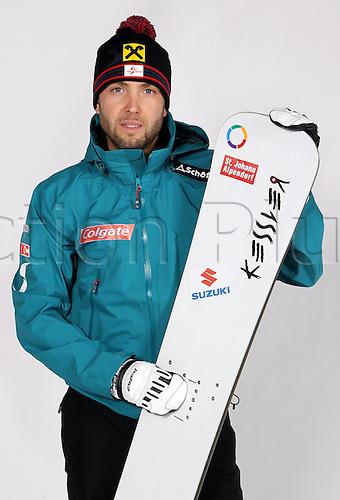 16.10.2010  Winter sports OSV Einkleidung Innsbruck Austria. Snowboarding OSV Austrian Ski Federation. Einkleidung women Picture shows Andreas Prommegger AUT