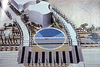San Diego: Martin Luther King Jr. Park. Architectural Rendering, San Diego Magazine. 1991.