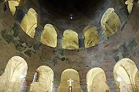 L'interno della Rotonda di San Lorenzo, a Mantova.<br /> Interior of the Rotonda di San Lorenzo, in Mantua.<br /> UPDATE IMAGES PRESS/Riccardo De Luca