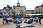 OFFICIAL PICTURE #35 BAXI DC RACING ALPINE (CHN) ALPINE A460 NISSAN LMP2 DAVID CHENG (USA) HO PIN TUNG (NLD) NELSON PANCIATICI (FRA) #36 SIGNATECH ALPINE (FRA) ALPINE A460 NISSAN LMP2 GUSTAVO MENEZES (USA) NICOLAS LAPIERRE (FRA) STEPHANE RICHELMI (MCO)