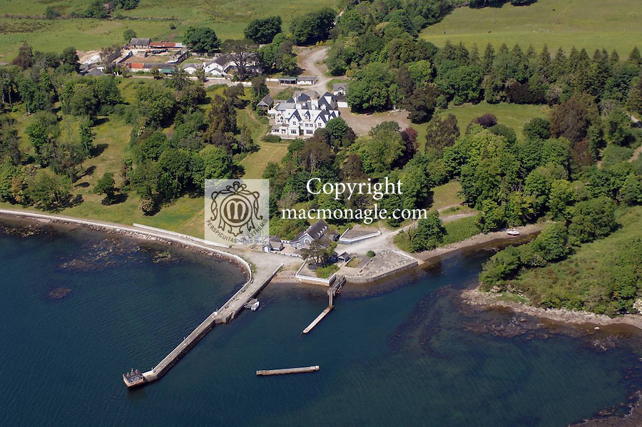 Dromquinna Manor on the Kenmare Estuary which is being developed by John and Gwen Brennan of the Park Hotel intop a 'glamping' and wedding venue....NO BYLINE..Picture by Don MacMonagle