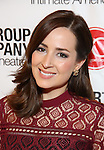 Hannah Elless attends the Transport Group Theatre Company 'A Toast to the Artist - An Evening with Mary-Mitchell Campbell & Friends'  at The The Times Center on February 6, 2017 in New York City.