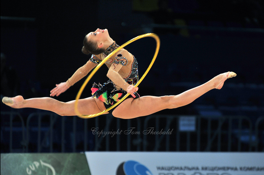 "YANA LUKONINA of Russia performs at 2011 World Cup Kiev, ""Deriugina Cup"" in Kiev, Ukraine on May 06, 2011."