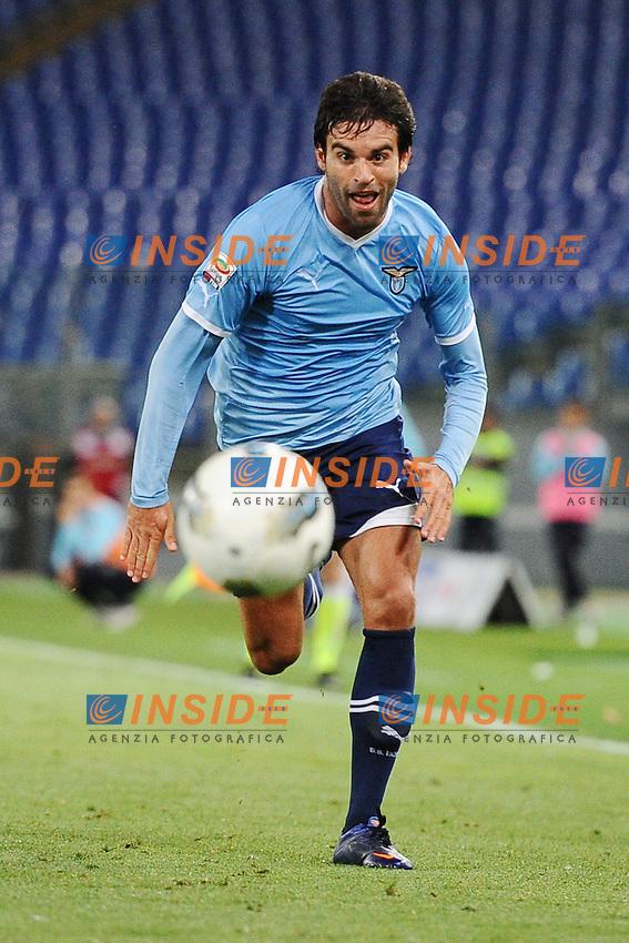 Javier Garrido (Lazio).Roma, 02/05/2012 Stadio Olimpico.Football Calcio 2011/2012 .Lazio vs Siena 1-1.Campionato di calcio Serie A.Foto Insidefoto Antonietta Baldassarre