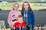 Lily O'Shea Daly, Tommy Daly, Lily Harte, Listowel, enjoying the Races on Sunday last.