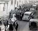 Syria 1951.<br /> Damascus, funeral of Geladet Bedir Khan  Syrie 1951 <br /> Les funerailles de Geladet Bedir Khan a Damas