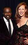 Joshua Henry and Cathryn Stringer attends the Opening Night After Party for 'Carousel' at the Cipriano 25 on April 12, 2018 in New York City.