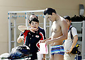 Japan Swimming team Training Session in Spain