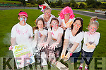 +++REPRODUCTION FREE+++<br /> Getting ready for Abbeyfeale's first Colur Run in the town park which takes place on Sunday 13th September, pictured l-r: Joan Grady, Jodie Brosnan,  Therese Brosnan, Katelyn Kennedy, Ben Brosnan, Caroline and Sarah Kennedy.<br /> <br /> CONTACT: Ben(Bernadette) 087 966 1383.