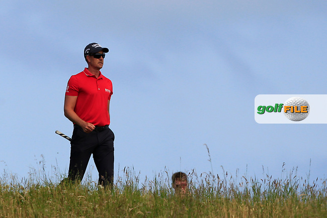 Henrick Stenson (SWE) on the 5th during Round 4 of the Aberdeen Standard Investments Scottish Open 2019 at The Renaissance Club, North Berwick, Scotland on Sunday 14th July 2019.<br /> Picture:  Thos Caffrey / Golffile<br /> <br /> All photos usage must carry mandatory copyright credit (© Golffile   Thos Caffrey)