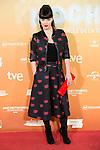 "Sara Vega attends to the premiere of the spanish film ""Mi Gran Noche"" at Kinepolis Cinema in Madrid, October 20, 2015.<br /> (ALTERPHOTOS/BorjaB.Hojas)"