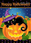 Janet, CUTE ANIMALS, halloween, paintings+++++,USJS402,#ac#