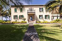Hulihe'e Palace museum in Kailua-Kona, Big Island, Hawaii