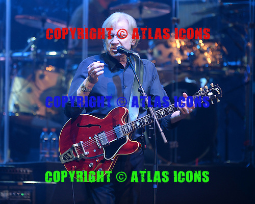 HOLLYWOOD FL - MARCH 03: Justin Hayward of The Moody Blues performS at Hard Rock Live held at the Seminole Hard Rock Hotel & Casino on March 3, 2016 in Hollywood, Florida. : Credit Larry Marano © 2016
