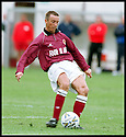 3rd October 98      .Copyright Pic : James Stewart   .STENHOUSEMUIR V ALBION ROVERS.ALAN LAWRENCE  FIRES HOME STENNY'S FOURTH GOAL......Payments to :-.James Stewart Photo Agency, Stewart House, Stewart Road, Falkirk. FK2 7AS      Vat Reg No. 607 6932 25.Office : 01324 630007        Mobile : 0421 416997.If you require further information then contact Jim Stewart on any of the numbers above.........