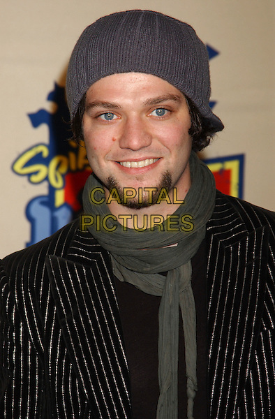 BAM MARGERA.Spike TV Video Game Awards 2004 held at the Barker Hangar. .December 14th, 2004.Photo Credit: Laura Farr/AdMedia.headshot, portrait hat goatee facial hair.www.capitalpictures.com.sales@capitalpictures.com.© Capital Pictures.
