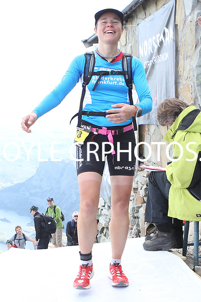 Race number 278 - Julia Nikolopoulos - Norseman Xtreme Tri 2012 - Norway - photo by chris royle/ boxingheaven@gmail.com