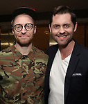 Matt Gould and Michael McCorry Rose attend The Dramatists Guild Foundation Salon with Matt Gould on March 12, 2018 at StellarTower in New York City.