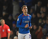 Correction: Brandon Haunstrup of Portsmouthduring Portsmouth vs Rotherham United, Sky Bet EFL League 1 Football at Fratton Park on 26th November 2019