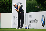 Graeme Storm (ENG) tees off on the 1st tee to start his round during of Day 3 of the BMW International Open at Golf Club Munchen Eichenried, Germany, 25th June 2011 (Photo Eoin Clarke/www.golffile.ie)