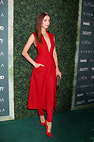 LOS ANGELES - FEB 20:  Angela Sarafyan at the CFDA Variety and WWD Runway to Red Carpet at Chateau Marmont Hotel on February 20, 2018 in West Hollywood, CA