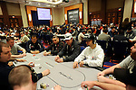 A view of the tournament area on Day 2.  At right is Team Pokerstars Pro Daniel Negreanu.