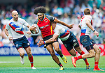 Russia vs Papua New Guinea during the HSBC Sevens Wold Series Qualifier match as part of the Cathay Pacific / HSBC Hong Kong Sevens at the Hong Kong Stadium on 28 March 2015 in Hong Kong, China. Photo by Juan Manuel Serrano / Power Sport Images