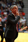 CAI Zaragoza´s coach Jose Luis Abos during 2013-14 Liga Endesa basketball match at Palacio de los Deportes stadium in Madrid, Spain. May 30, 2014. (ALTERPHOTOS/Victor Blanco)