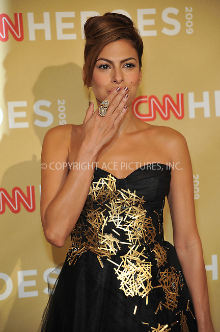 WWW.ACEPIXS.COM . . . . . ....November 21 2009, New York City....Actress Eva Mendes arriving at the 2009 CNN Heroes Awards at the Kodak Theatre on November 21, 2009 in Hollywood, California. ....Please byline: JOE WEST- ACEPIXS.COM.. . . . . . ..Ace Pictures, Inc:  ..(646) 769 0430..e-mail: info@acepixs.com..web: http://www.acepixs.com