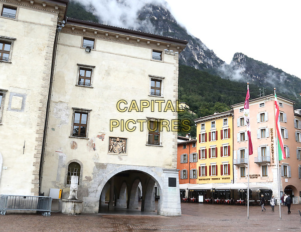 LAGO DI GARDA, ITALY - Views around the streets and town square in Riva Del Garda on 17 October 2015 in Lago di Garda, Italy<br /> <br /> CAP/ROS<br /> &copy;ROS/Capital Pictures