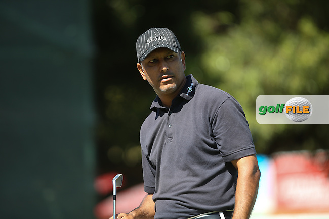 Jeev Milkha Singh (IND) during Round Two of the Tshwane Open 2015 at the Pretoria Country Club, Waterkloof, Pretoria, South Africa. Picture:  David Lloyd / www.golffile.ie. 13/03/2015