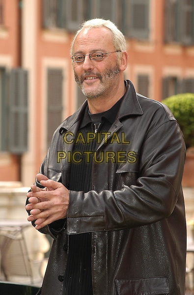 JEAN RENO.at photocall in Rome.23 March 2004.half length, half-length, beard, glasses.www.capitalpictures.com.sales@capitalpictures.com.© Capital Pictures.