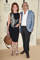 Jane Asher and Gerald Scarfe<br /> arrives for the Baileys Women's Prize for Fiction 2016, Royal Festival Hall, London.<br /> <br /> <br /> ©Ash Knotek  D3131  08/06/2016