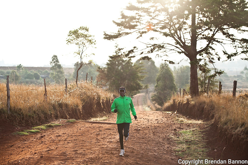 Athlete Johanna Kariankei pounds the dirt tracks around Iten, the Kenyan town perched 8,000ft above sea level on the edge of the Rift Valley escarpment that has become the Mecca of high-altitude endurance training for the world's best long-distance runners. Few of these amateurs have access to professional facilities, yet the town hosts many of the fastest men and women over marathon, half-marathon and 10,000m distances.