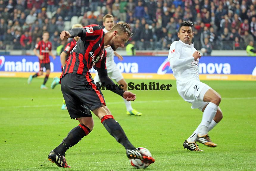 Flanke HAris Seferovic (Eintracht) - Eintracht Frankfurt vs. 1. FSV Mainz 05, Commerzbank Arena