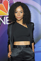 NEW YORK, NY - MAY 09: Zuri Hall attends the 2019/2020 NBC Upfront presentation at the    Fourr Seasons Hotel on May 13, 2019in New York City.  <br /> CAP/MPI/JP<br /> ©JP/MPI/Capital Pictures