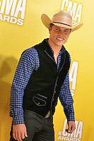NASHVILLE, TN - NOVEMBER 1: Dustin Lynch on the Macy's Red Carpet at the 46th Annual CMA Awards at the Bridgestone Arena in Nashville, TN on Nov. 1, 2012. © mpi99/MediaPunch Inc. /NortePhoto