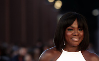 L'attrice statunitense Viola Davis posa durante un red carpet alla 14^ Festa del Cinema di Roma all'Aufditorium Parco della Musica di Roma, 26 ottobre 2019.<br /> US actress Viola Davis poses on a red carpet  during the 14^ Rome Film Fest at Rome's Auditorium, on 26 October 2019.<br /> UPDATE IMAGES PRESS/Isabella Bonotto