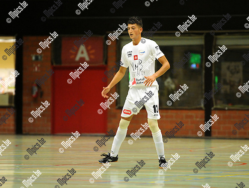 2012-08-24 / Futsal / seizoen 2012-2013 / FT Antwerpen / Yassine Achahbar..Foto: Mpics.be