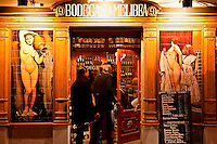 Bodegas Melibea bar and tapas, Madrid, Spain