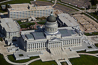 aerial photograph Utah State capitol building, Salt Lake City, Utah