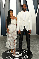 09 February 2020 - Los Angeles, California - Gabrielle Union, Dwayne Wade. 2020 Vanity Fair Oscar Party following the 92nd Academy Awards held at the Wallis Annenberg Center for the Performing Arts. Photo Credit: Birdie Thompson/AdMedia