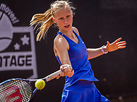 Rotterdam, Netherlands, August21, 2017, Rotterdam Open, Emily Casteleyn (BEL)<br /> Photo: Tennisimages/Henk Koster